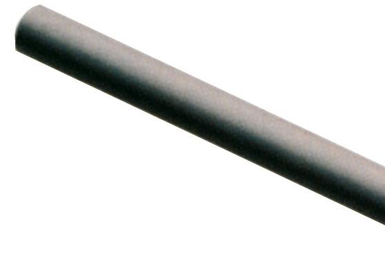 TUBO ALU C/3 MT 18086 PRETO
