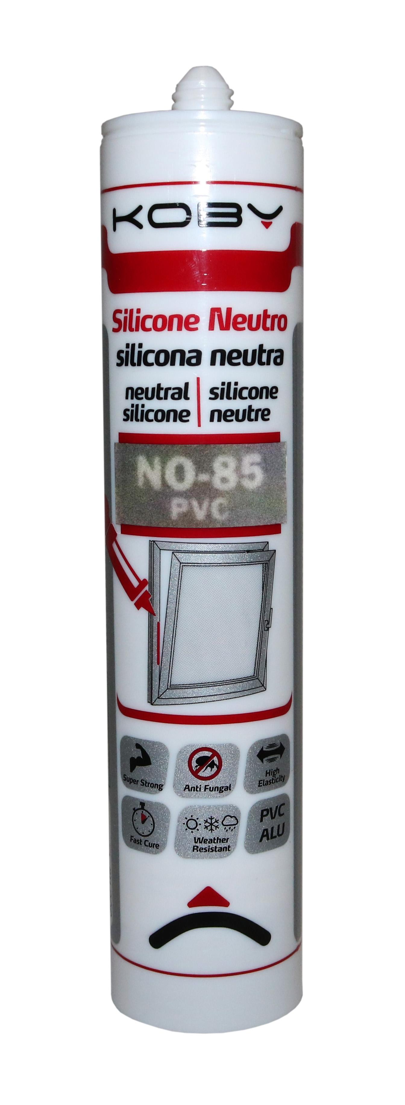 SILICONE NEUTRO 3082 BRANCO PVC