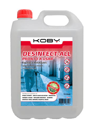 DESINFECT-ALL PRONTO A USAR 3106 - 5000ML