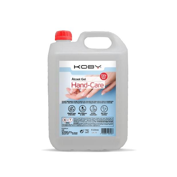 ALCOOL GEL 3107 - 5000ML